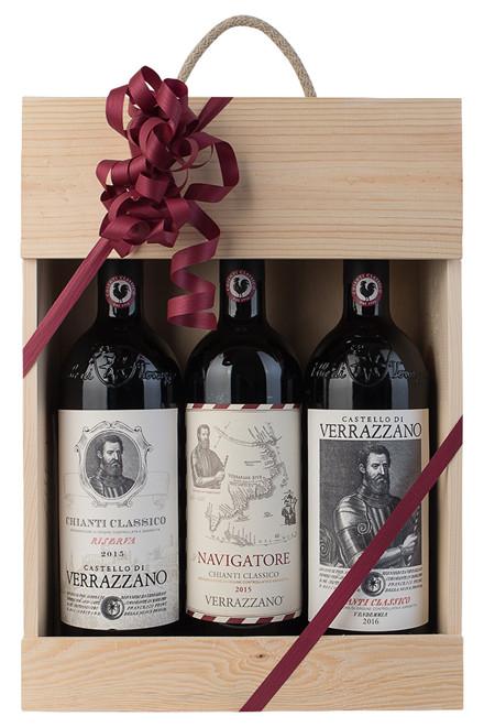 3 fl. Økologisk Chianti Classico fra Verrazzano