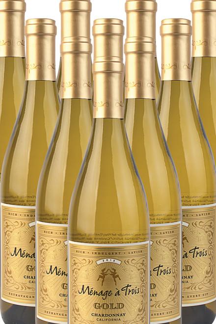 Ménage à Trois  Chardonnay Gold