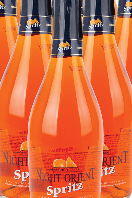Night Orient Spritz (alkoholfri)