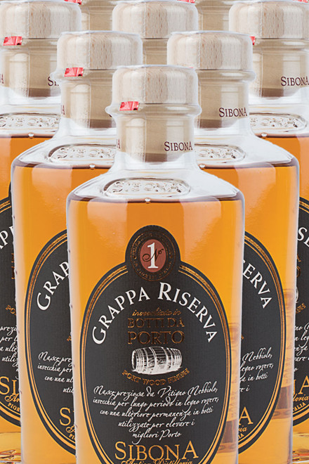 Grappa Riserva Port Wood
