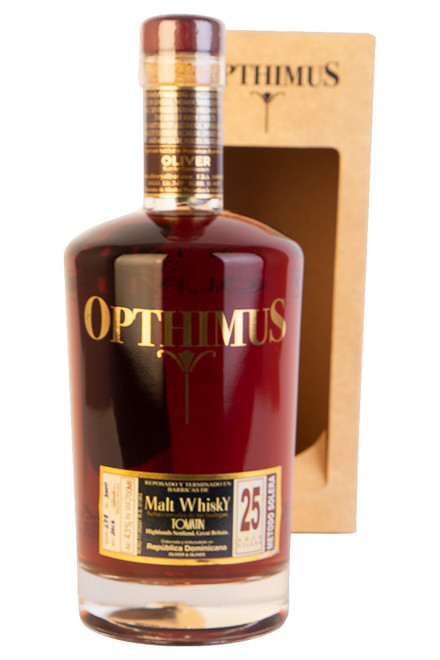 Opthimus Ron Dominicano 25 Years