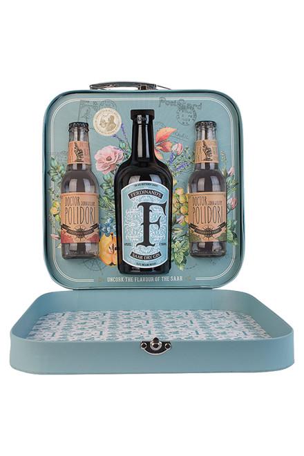 Ferdinand's Gin gaveæske med 2 fl. Polidori tonic