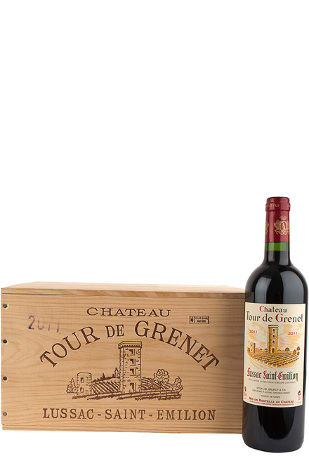 Château Tour de Grenet - 6 fl. Bordeaux i original trækasse
