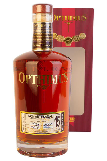 Opthimus Ron Dominicano 15 Years