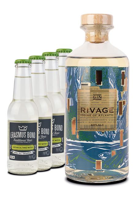Godet Rivage + 4 tonic