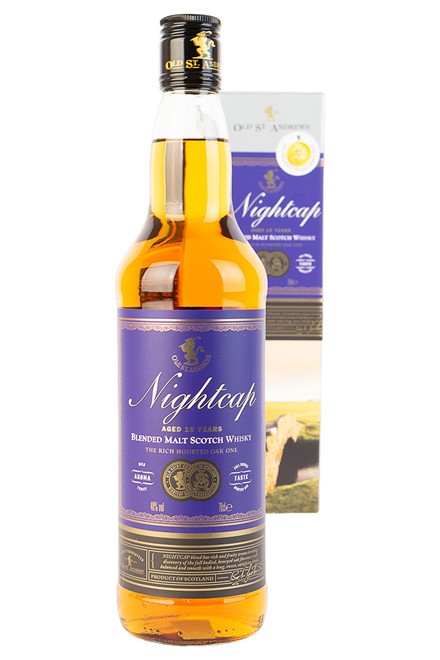 Nightcap 15 års Blended Malt Whisky