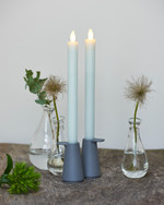 Thea 2 Dinner Candles 25 cm mint