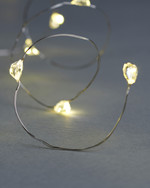 Maggie 7,9 m String Light 80 lights silver