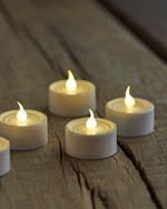 Lone 4-pack white Tea lights (for remote)