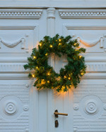 Anton Green Christmas Wreath 45 cm and LED Lighs