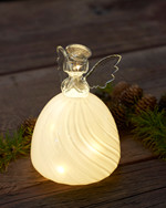 Heaven Glass Angel H:15 cm
