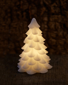Carla Christmas tree H:19 x D:11 cm white