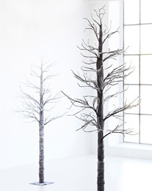 Ranja Tree snow no lights H:2 m