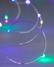 Knirke 1,9 m Fairy Light 20-LEDs Silver-Mix