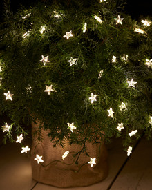 Trille Star String Light 13x1m green