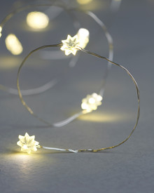 Silke Daisy flower String Light 3,9m.