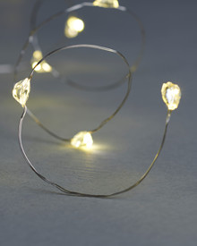 Maggie 1,9m String Light 20 LEDs silver