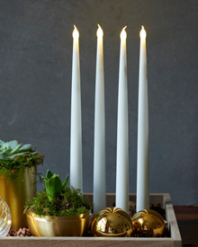 Carolin Tall 2-pack Dinner Candles H:30cm White