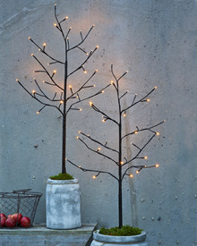Noah Tree 2 pcs. H:90cm 36 LED black