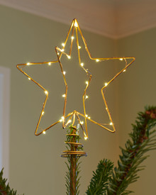 Christina Tree Top Star 15 cm Gold