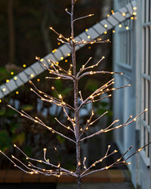 Alex Tree H:180 cm 240 Lights, snowy