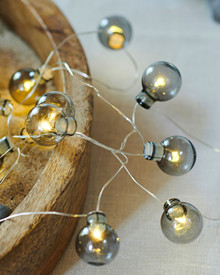 Io String Light 20 grey balls