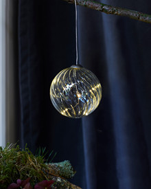 Wave Glass Ball Ø 8cm