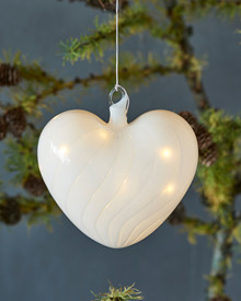 Heaven Glass Heart Ø 15cm