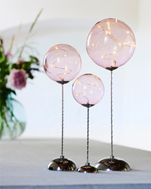 Pure XL TRIO Balls 3pcs. w/remote rose