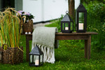 August Lantern H:48x15x15 cm brown
