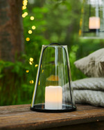 Albert Table Lantern H20xØ13 cm black