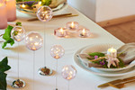 Lotte 4-pcs tealights rose