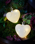Heaven Glass Heart Ø 8cm