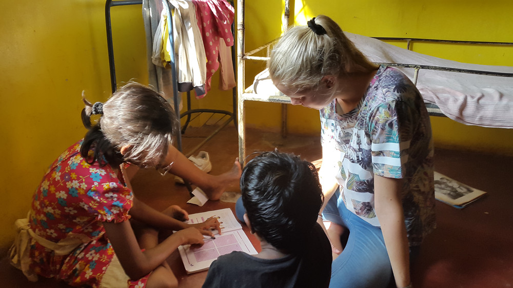 Frivilligt arbejde Asien Afrika Tanzania Sydamerika