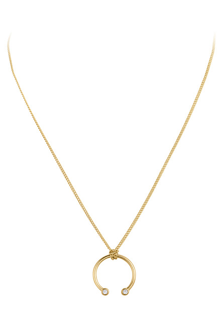 DYRBERG/KERN DOVEA NECKLACE 340794