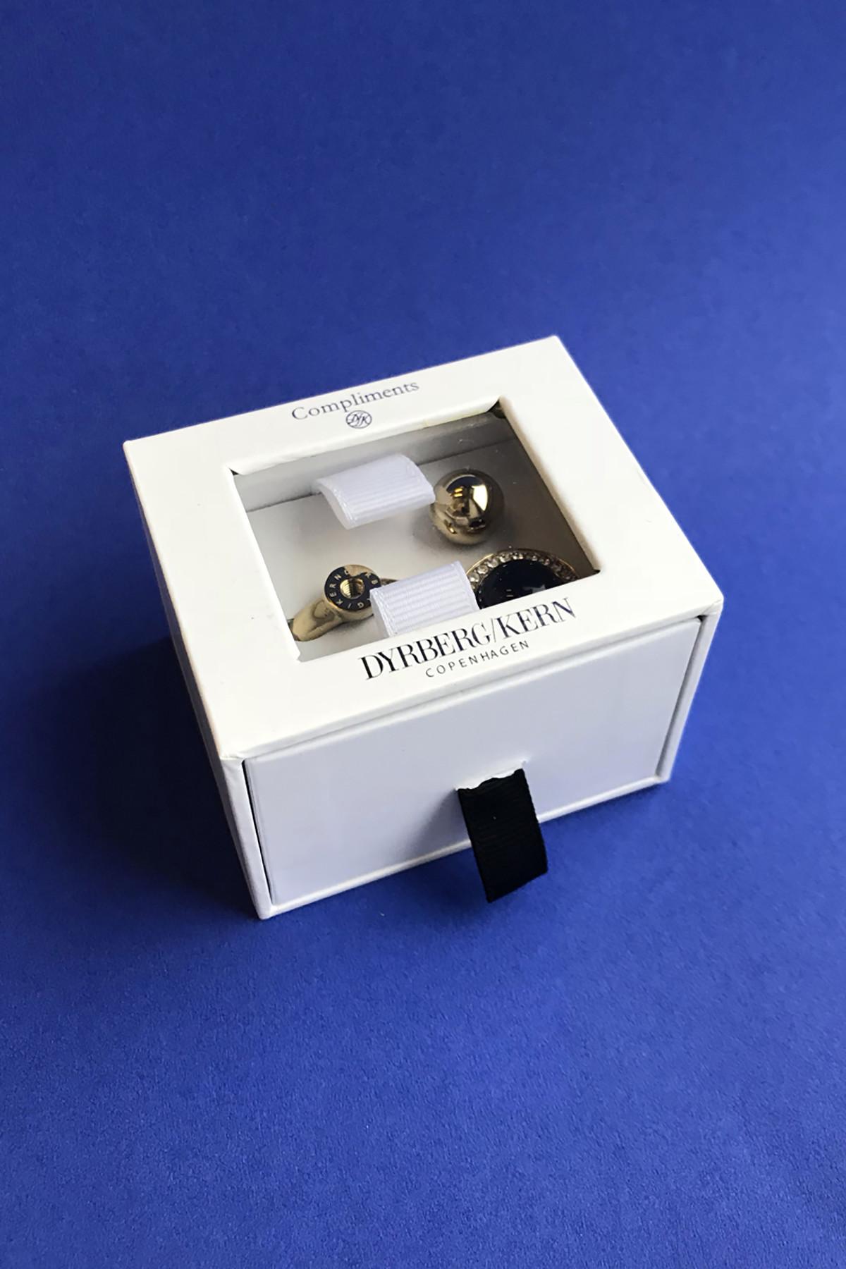 DYRBERG/KERN RDU COMPLIMENTS 3 SET 2 RING 350740