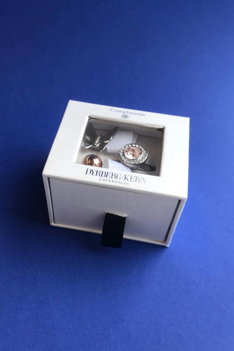DYRBERG/KERN COMPLIMENTS SET 8 RING TF 10677