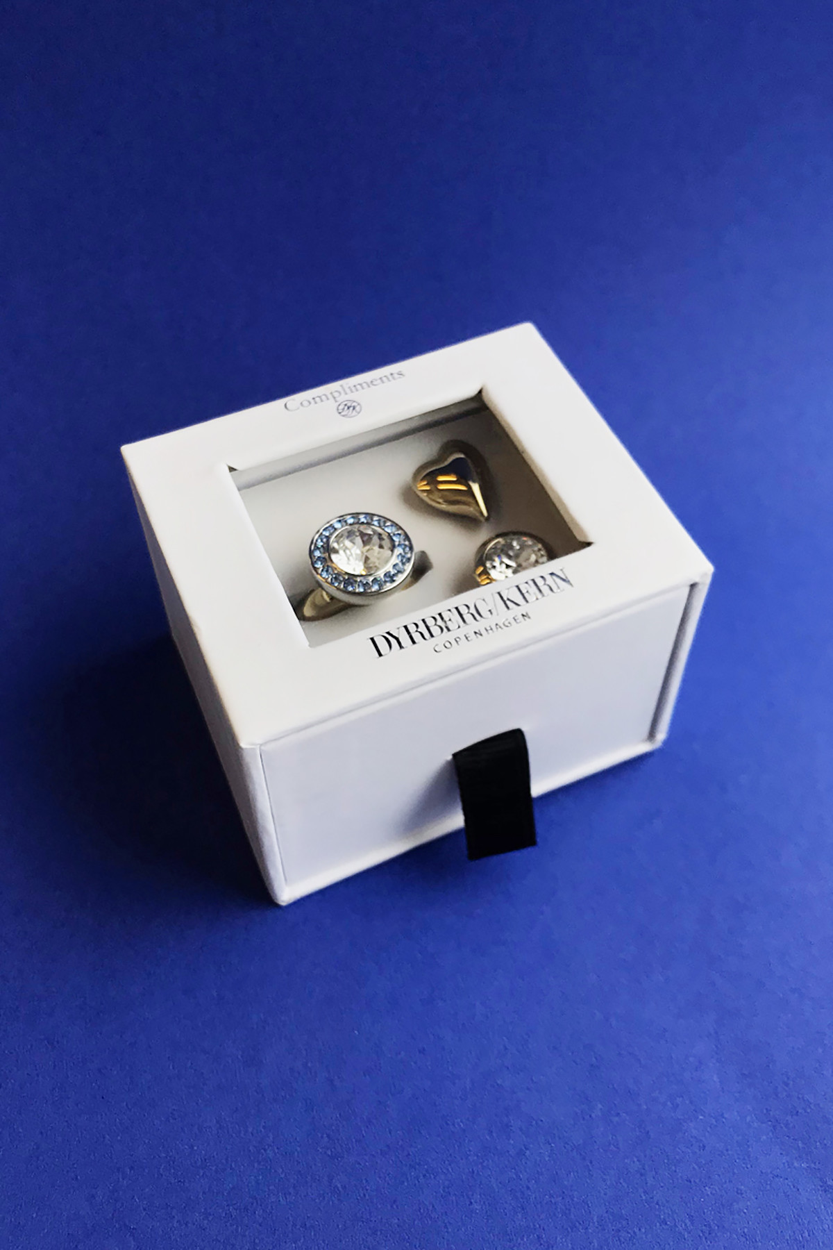 DYRBERG/KERN COMPLIMENTS SET 3 RING TF 10615