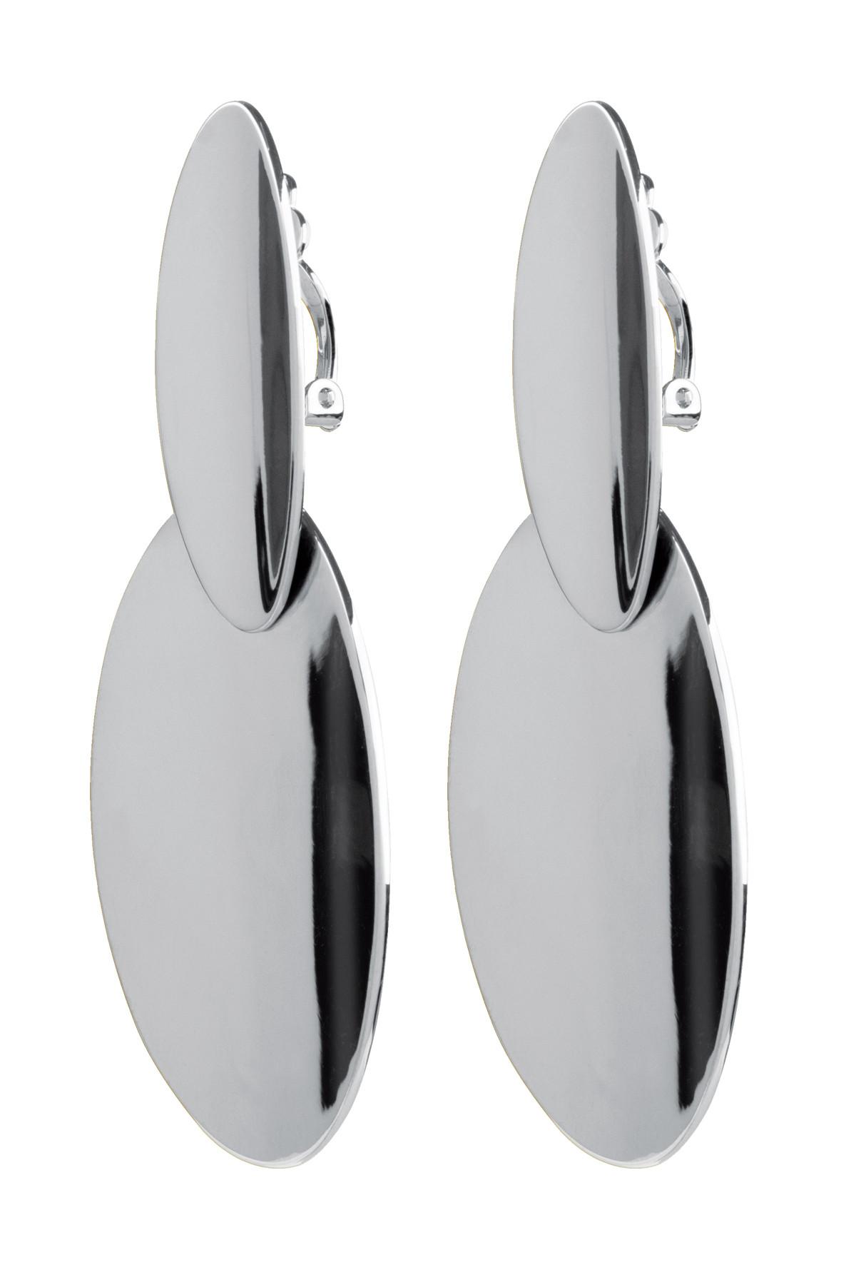 DYRBERG/KERN RIYA EARPOST 350937 (Silver, ONESIZE)