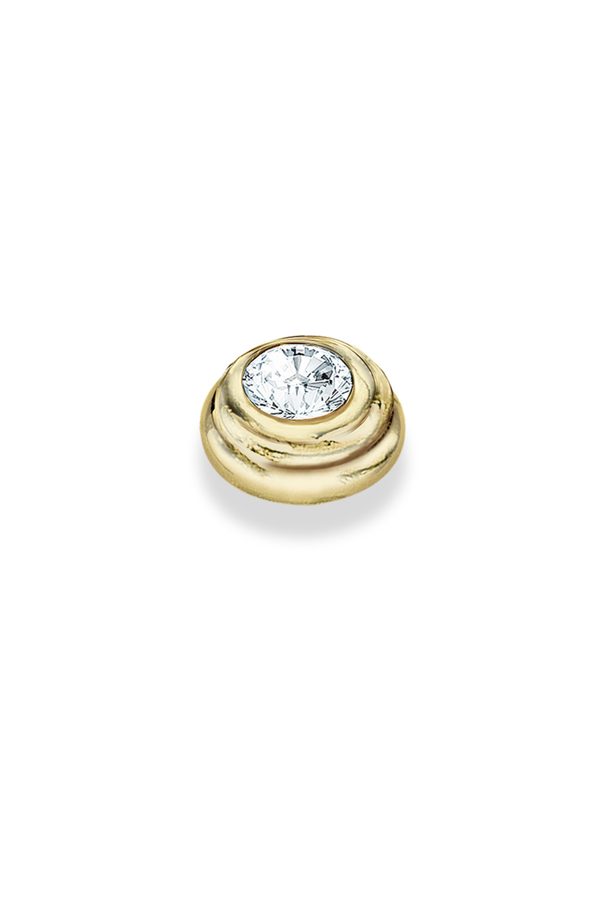 Image of   DYRBERG/KERN ARTSY TOPPING 351885 (Gold, Crystal, ONESIZE)