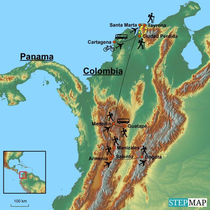 Rejser Til Colombia Rundrejse I Latinamerikas Oversete Land