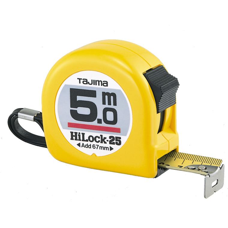 Tajima båndmål 5m Hi Lock 25mm