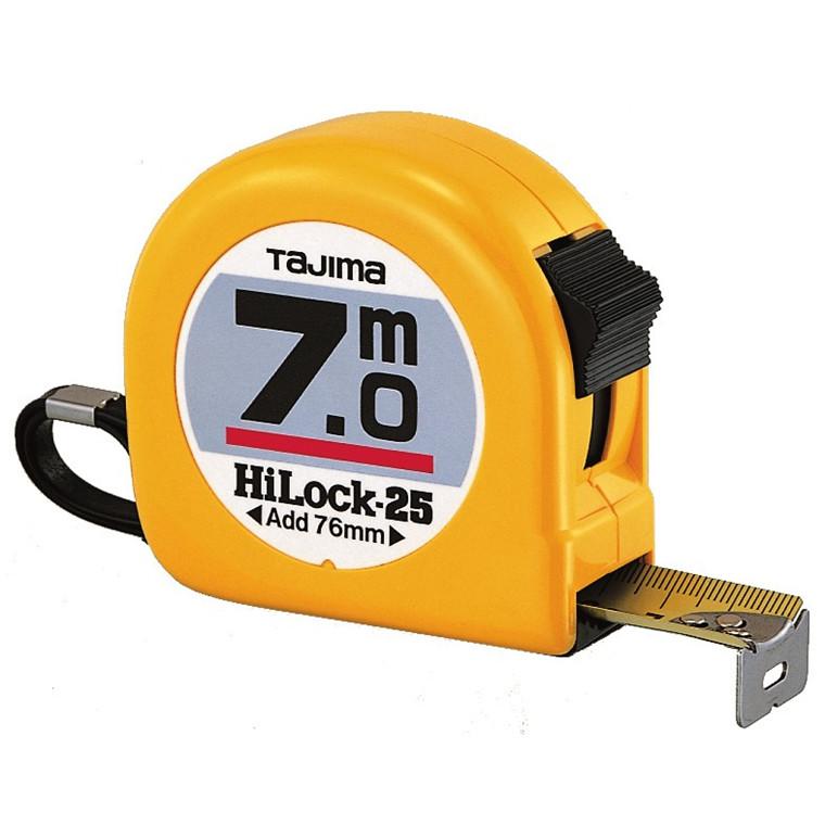 Tajima båndmål 7m Hi Lock 25mm