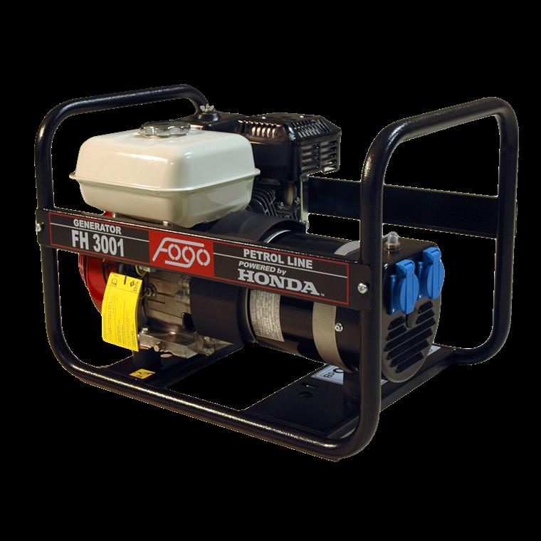 FOGO generator 2,8Kw 2x230V Honde GX200