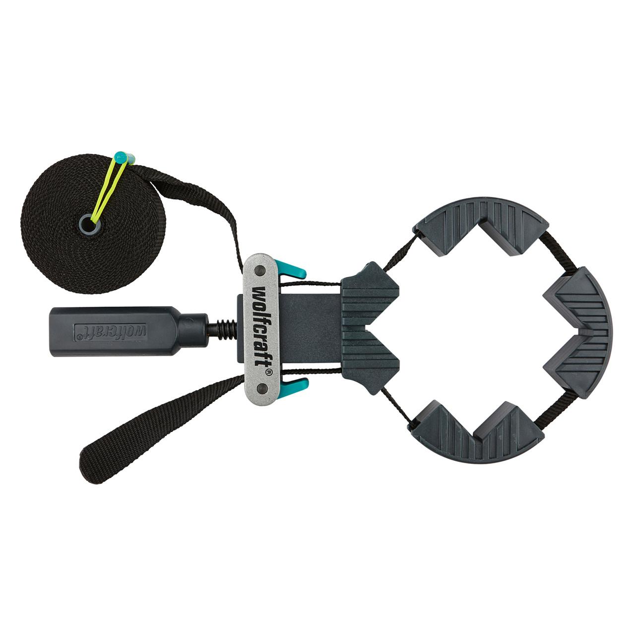WOLFCRAFT Båndspænder 4 kæber længde 4m - Værktøj -> Håndværktøj -> Spændeværktøj|Værktøj -> Håndværktøj|Mærker -> Wolfcraft