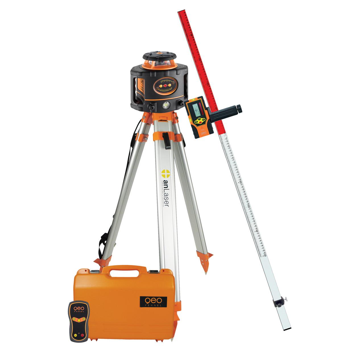 geoFENNEL Rotationslaser FL300 HV-G m/FR 45 komplet - Værktøj -> Laser og måleinstrumenter -> Laser -> Cirkellaser|Værktøj -> Laser og måleinstrumenter -> Laser -> Rotationslaser|Værktøj -> Laser og måleinstrumenter -> Laser|Værktøj -> Laser og måleinstrumenter|Mærker -> geo-FEN