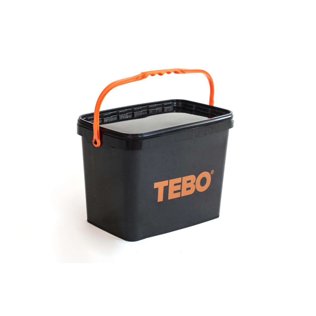 TEBO Opbevaringsspand til Spin Level nivelleringssystem - Værktøj -> Håndværktøj -> Murerværktøj -> Fliseværktøj -> Nivileringskiler|Værktøj -> Håndværktøj -> Murerværktøj -> Fliseværktøj|Værktøj -> Håndværktøj -> Murerværktøj|Værktøj -> Håndværktøj|Mærker -> TEBO