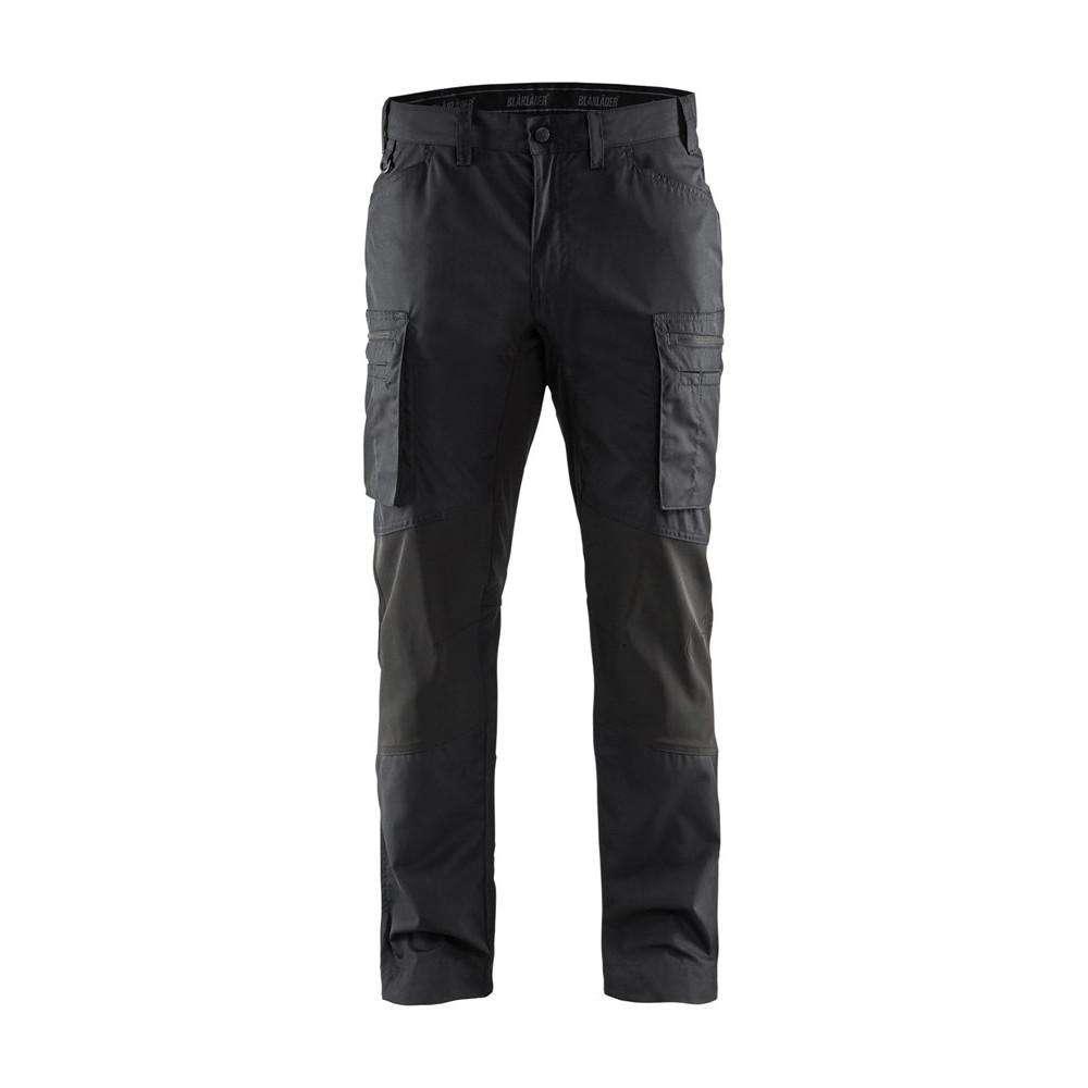 Blåkläder servicebuks med stretch sort 1459 - Diverse -> Arbejdstøj og sikkerhedssko -> Arbejdstøj -> Arbejdsbukser|Diverse -> Arbejdstøj og sikkerhedssko -> Arbejdstøj|Diverse -> Arbejdstøj og sikkerhedssko|Mærker -> Blåkläder -> Blålkäder arbejdsbukser|Mærker ->