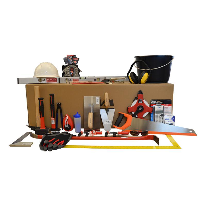 SPREHN lærlingesæt til bygningsstruktør u/kasse - Værktøj -> Håndværktøj -> Lærlingesæt|Værktøj -> Håndværktøj|Værktøj