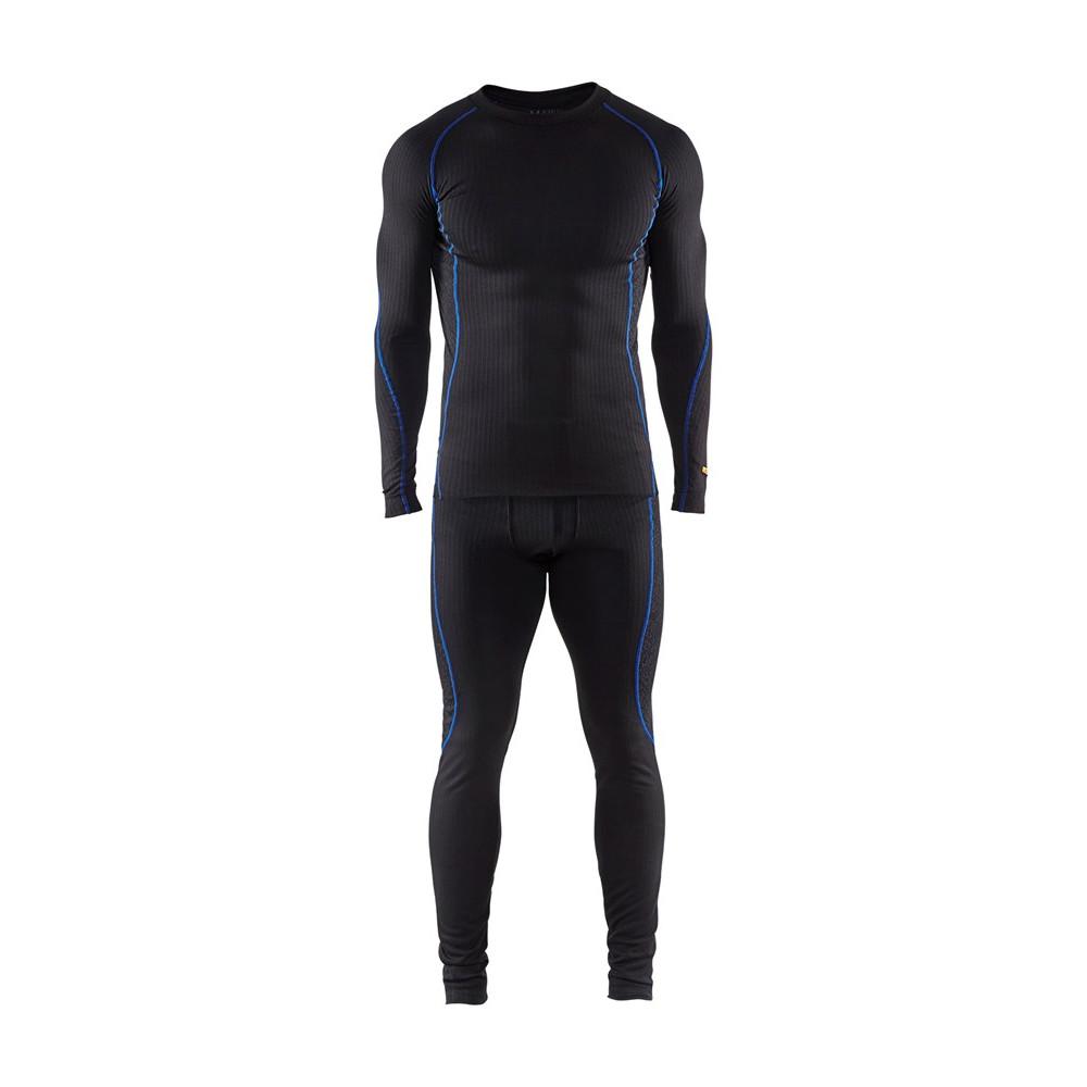 Blåkläder undertøjssæt Light sort/blå 6810 - Diverse -> Jagt, fiskeri og outdoor|Diverse -> Arbejdstøj og sikkerhedssko -> Arbejdstøj -> Termoundertøj|Diverse -> Arbejdstøj og sikkerhedssko -> Arbejdstøj|Diverse -> Arbejdstøj og sikkerhedssko|Mærker -> Blåkläder -> Bl